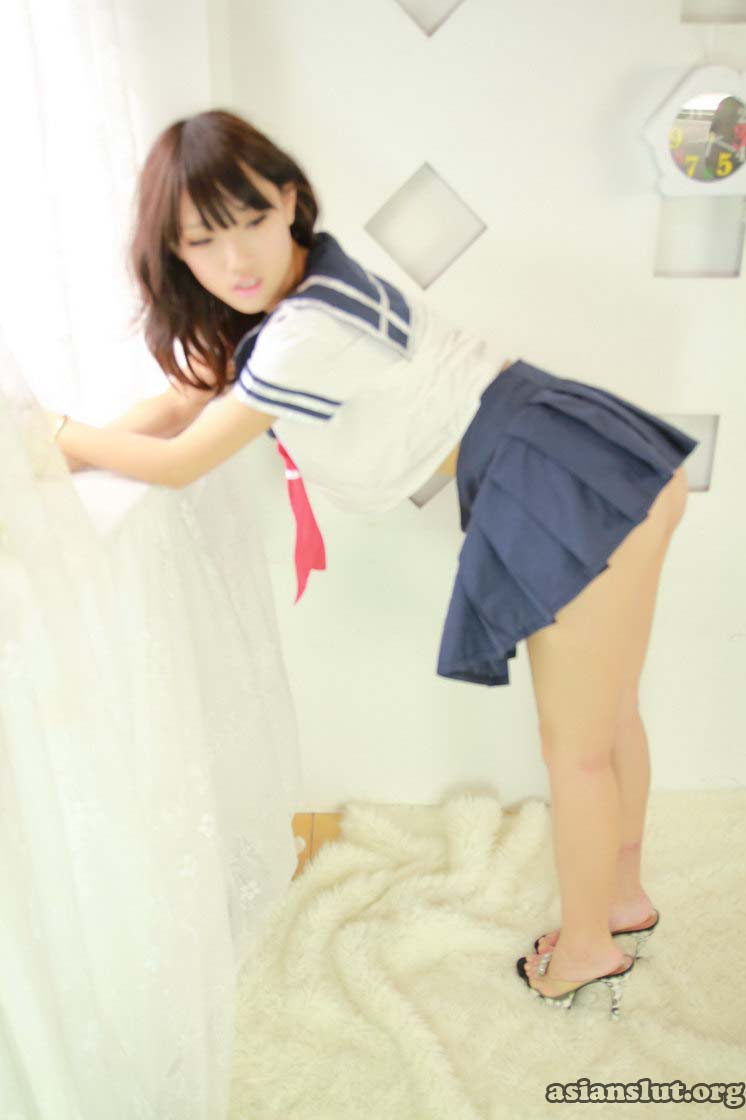 beautiful taiwaness taiwanese girl xiaoweis Sexy Sailor Uniform and Lingerie Underwear   Temptation xiaowei Sailor