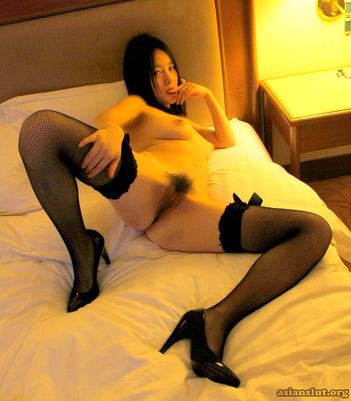 lovely chinese girl with  big boods  spread her legs to show her hairy private parts  private parts chinese girl big boods