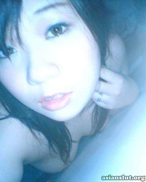cute asian girl private nude self shot
