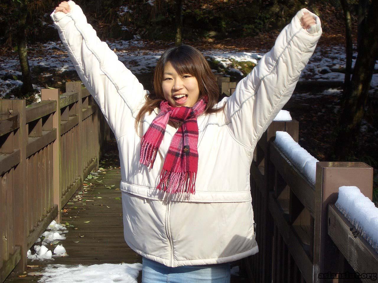 cute japanese girl with huge dark areola 012