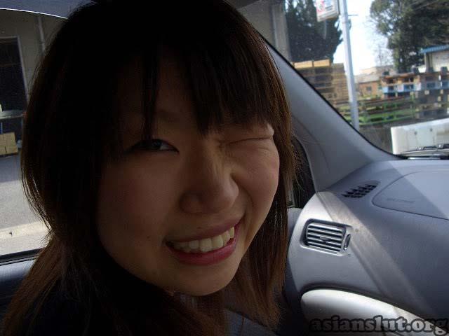 cute japanese girl with huge dark areola 015