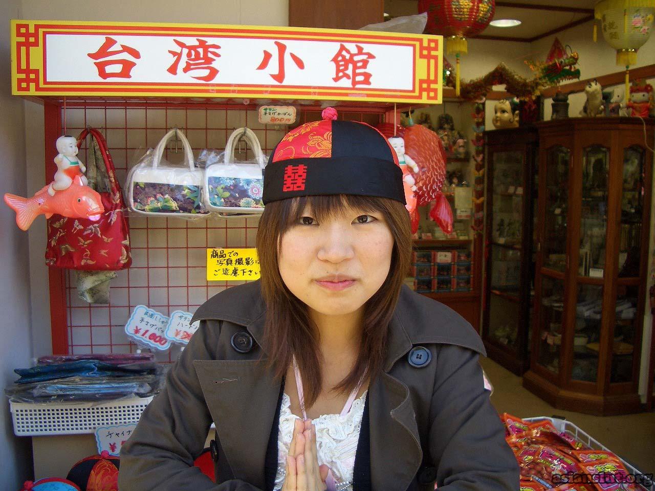 cute japanese girl with huge dark areola 016