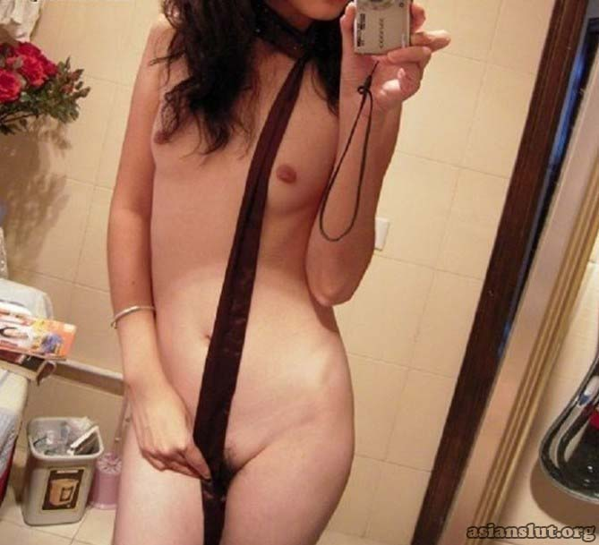 Skinny Chinese collage Cutie private self shots Solo Small Tits Homemade Formal Wear