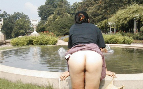 Middle aged Chinese wife's shaved pussy and anus outdoor flashing photos leaked  Shaved Pussy outdoor Interracial Hardcore Doggy Style