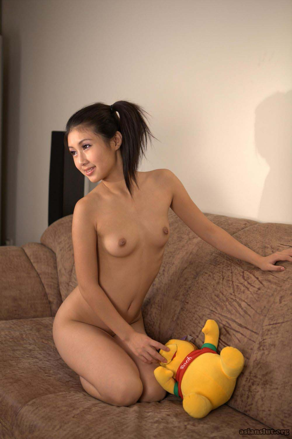 cute Amateur Asian Model Shows Off Her Petite Body