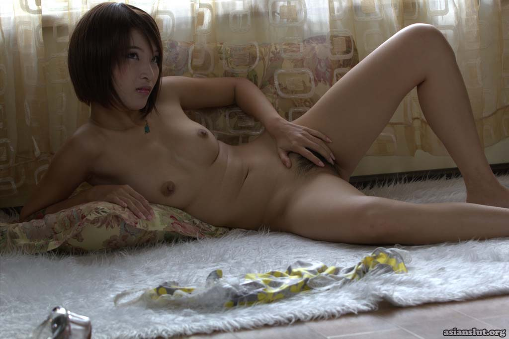 nude chinese model show her hairy pussy Pussy Masturbation beautiful