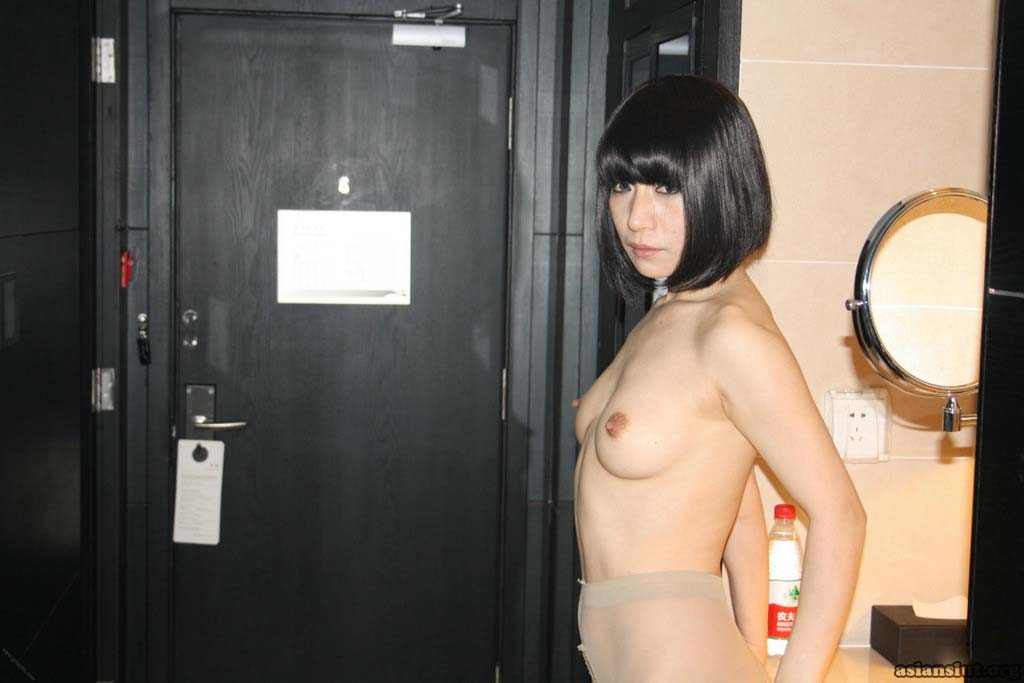 sexy chinese model yangyang shows off hot body and gets pleasured with a dildo nude