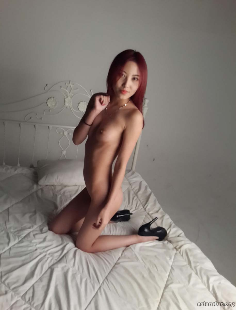 beautiful chinese model xiaosu strip off her dress to show her pretty pink pussy Solo nude chinese porn asian Amateur
